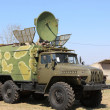 Military communication truck — Stock Photo