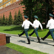 Stock Photo: Changing guards in Kremlin