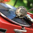 Royalty-Free Stock Photo: The record player