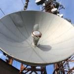 Bent antenna — Stock Photo