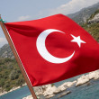Royalty-Free Stock Photo: Turkish flag