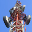 The telecom mast — Stock Photo