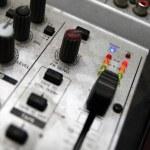 The vision control desk — Stock Photo
