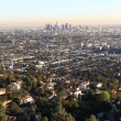 Stock Photo: Los Angeles at sunset