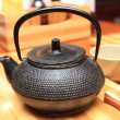 Stock Photo: Cast-iron teapot