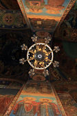 Ceiling of cathedral — Foto Stock