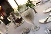 Water and wine — Stock Photo