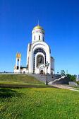 Church on a hill — Stock Photo