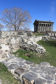 Temple Garni in spring — Stock Photo