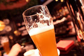 The glass of beer — Stock Photo