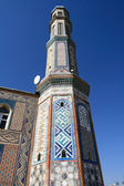 Minaret in Dushanbe — Stock Photo