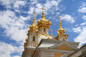 Golden church — Stock Photo