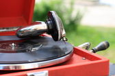 The gramophone — Stock Photo