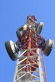 The telecom mast — Stock Photo