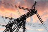 Electric line — Stock Photo