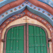 Detail of entrance to convent — Stock Photo