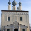 White church in Suzdal - Foto Stock