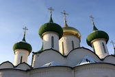 Cupola cathedral of the Transfiguration — Stock Photo