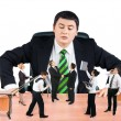 图库照片: Business team