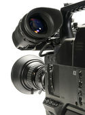 Professional digital video camera, isola — Stock Photo