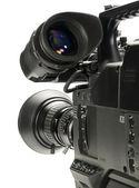 Profesyonel dijital video kamera, isola — Stok fotoğraf