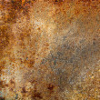 Stock Photo: Strongly rusty metal plate