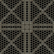 Lattice, With Clipping Path — Stock Photo