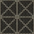 Lattice, With Clipping Path - Stock Photo