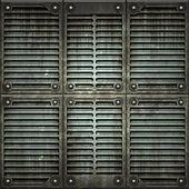 Galler. konsistens av metallplatta — Stockfoto