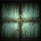 Texture di piastra metallica — Foto Stock