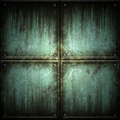 Texture of metal plate — Stock Photo