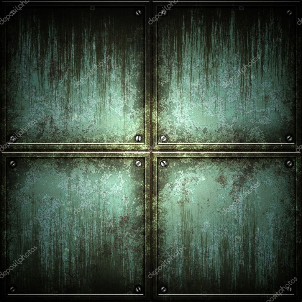Texture of metal. ( old background ) — Stock Photo #1164754