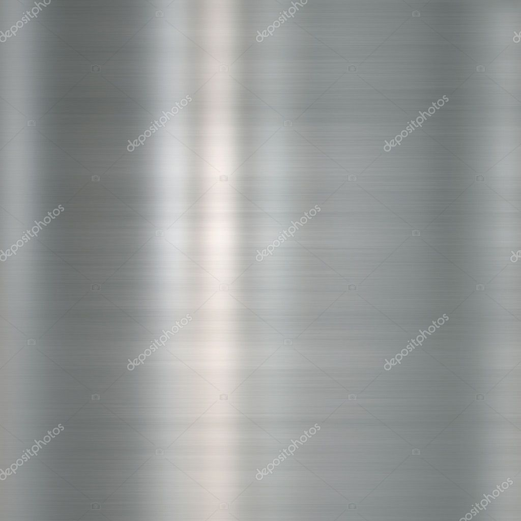 Brushed metal plate — Stock Photo #1164892