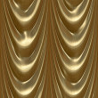 Stock Photo: Drapes gold