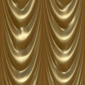 Drapes gold — Stock Photo