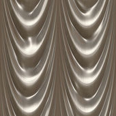 Drapes silver — Stock Photo