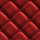 Red upholstery — Stock Photo