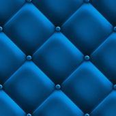 Blue upholstery — Stock Photo