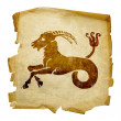 Royalty-Free Stock Photo: Capricorn zodiac old