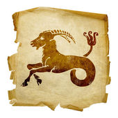 Capricorn zodiac old — Stock Photo