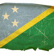 solomon islands flag icon, isolated on w — Stock Photo