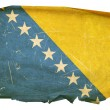 Royalty-Free Stock Photo: Bosnia and Herzegovina Flag old, isolate
