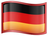 Germany Flag Icon — Stock Vector