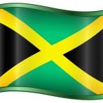 Jamaica Flag Icon — Stock Vector