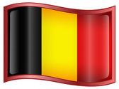 Belgium Flag Icon — Stock Vector
