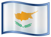 Cyprus Flag Icon — Stock Vector