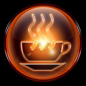 Coffee cup icon — Stock fotografie