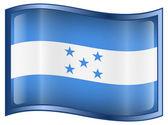 Honduras Flag icon — Stock Vector