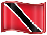 Trinidad and Tobago Flag icon. — Stock Vector