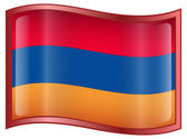 Armenia Flag icon. — Stock Vector
